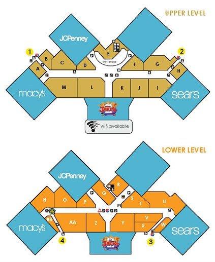 Collin Creek Mall Map | Smeka